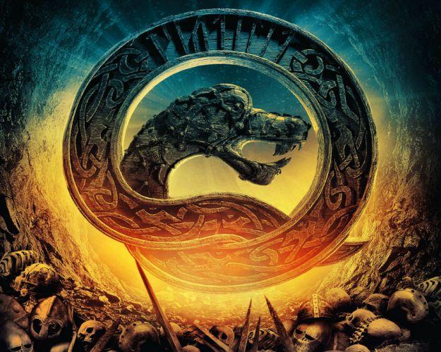 GATEN RAGNAROK action adventure norse viking fantasy 1gaten poster wallpaper