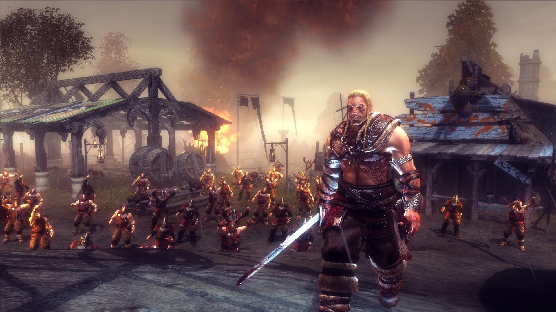 VIKING BATTLE ASGARD action adventure fighting sega 1vba norse    Asgard Norse