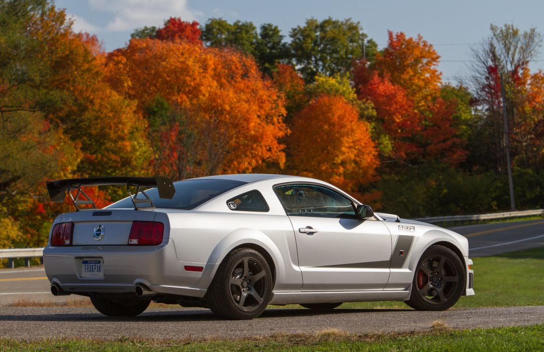 2008 Roush 427R Trak Pak ford mustang muscle race racing wallpaper