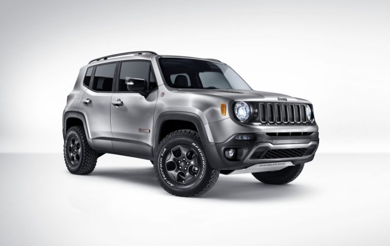 2015 Jeep Renegade Trailhawk Hard Steel suv wallpaper
