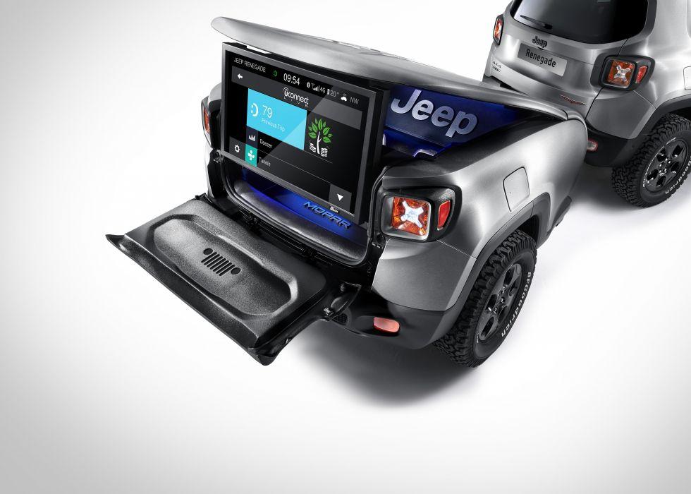 2015 Jeep Renegade Trailhawk Hard Steel suv wallpaper