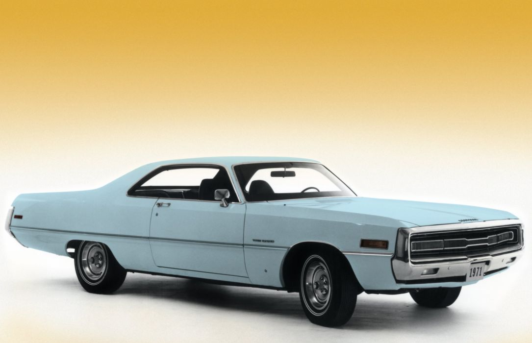 1971 Chrysler 300 Hardtop Coupe CS23 classic wallpaper