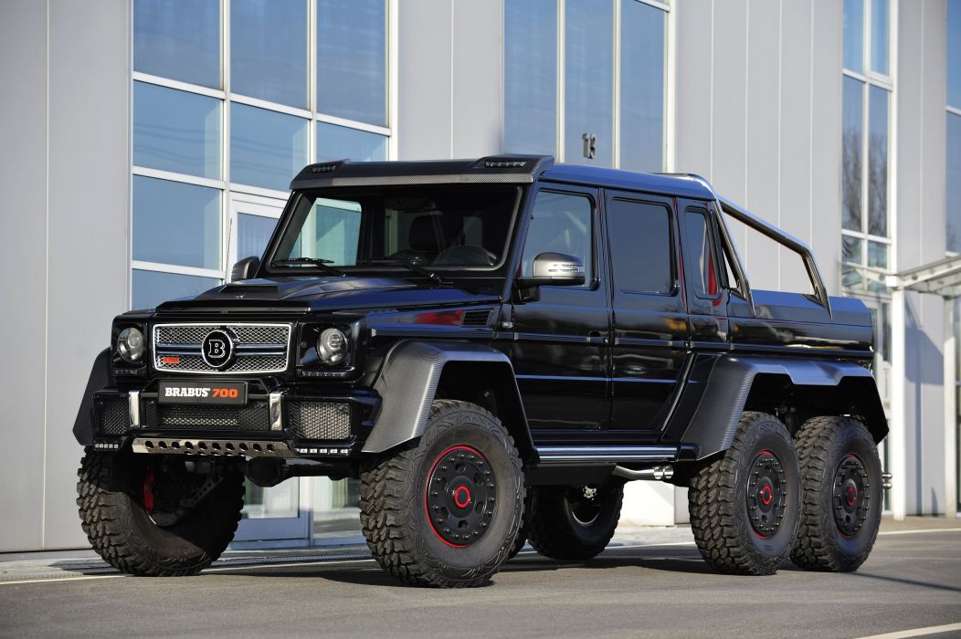 2013 Brabus Mercedes Benz G63 AMG 6x6 W463 pickup offroad wallpaper