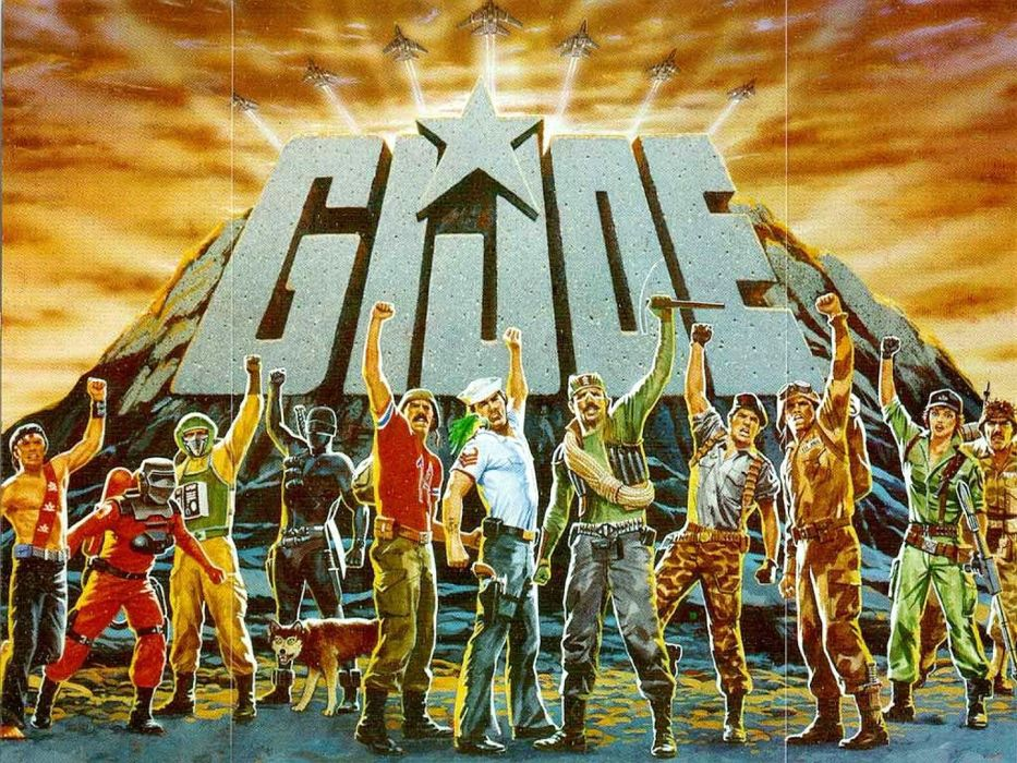 GIJOE action adventure fighting military sci-fi apocalyptic futuristic 1gijoe joe warior poster wallpaper