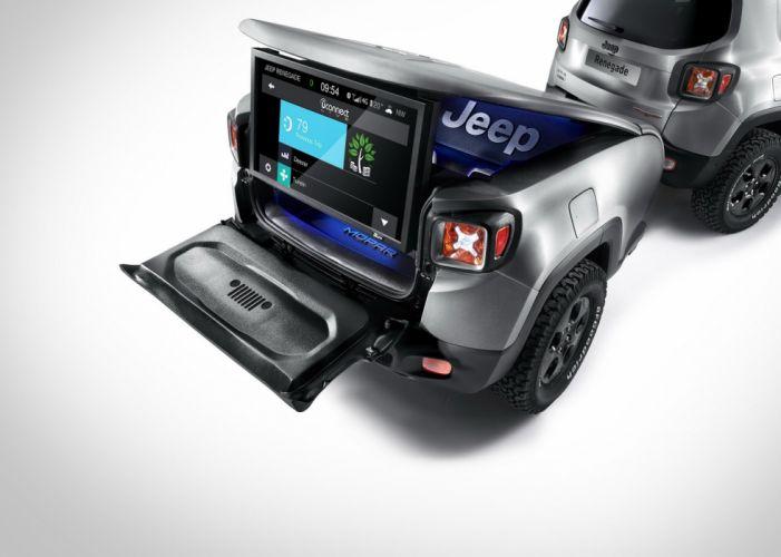 Jeep Renegade Hard Steel Concept cars suv 2015 wallpaper