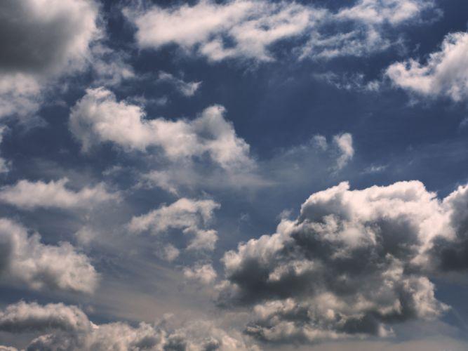 sky clouds blue landscape wallpaper