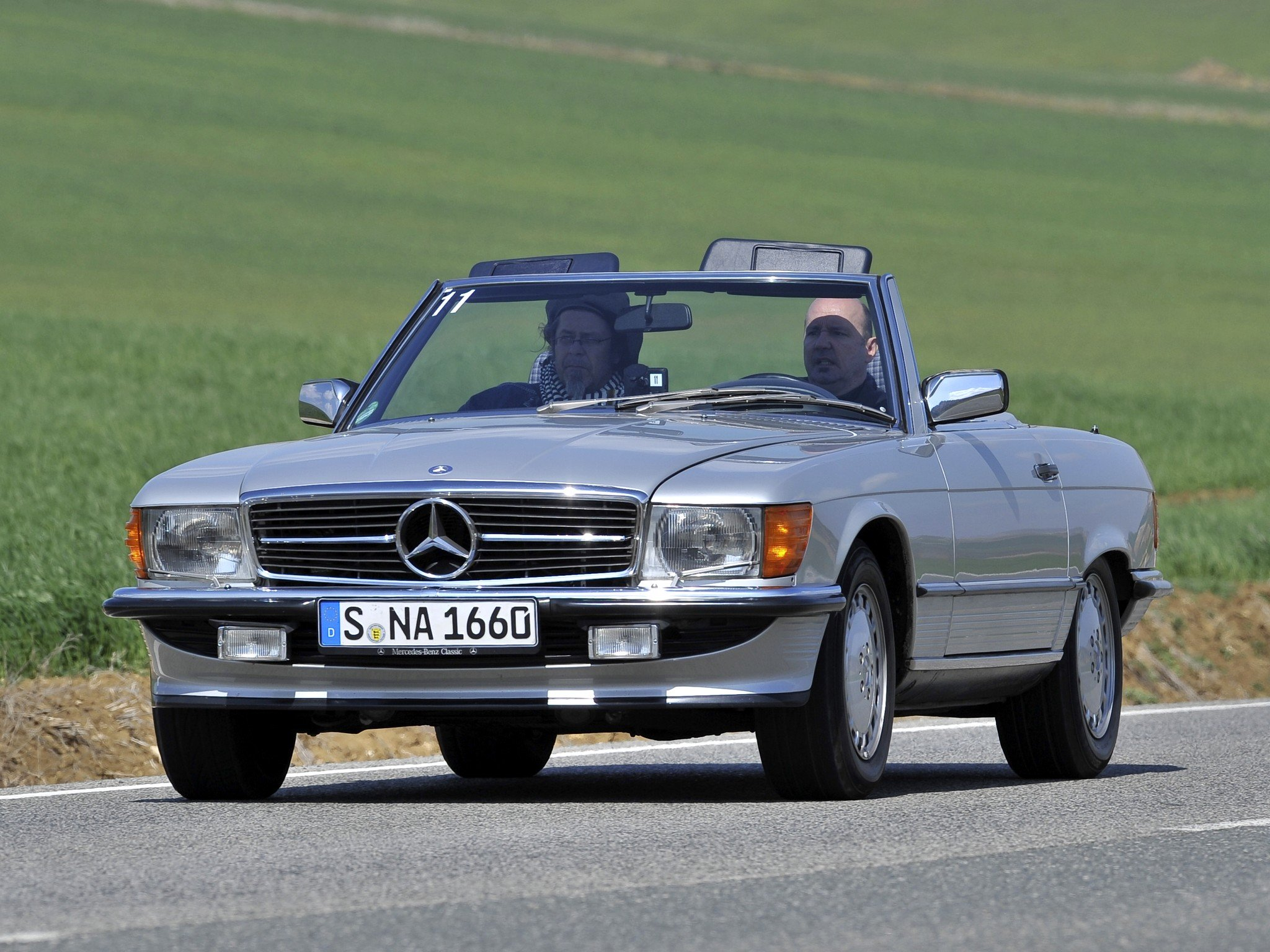 Mercedes benz 500 s l r107 cars convertible wallpaper for Mercedes benz r 500