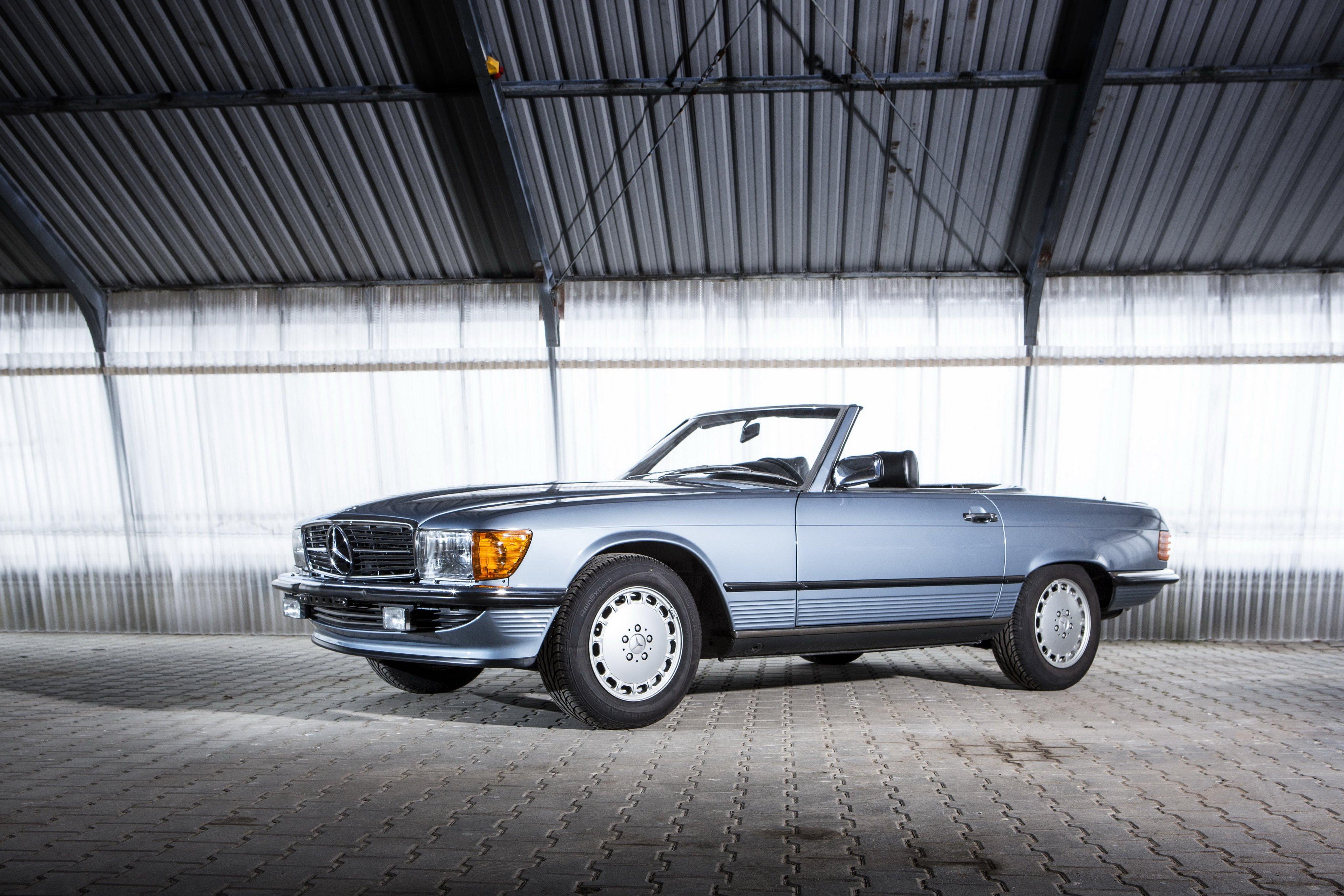 Mercedes Benz 500 S L R107 cars convertible wallpaper ...