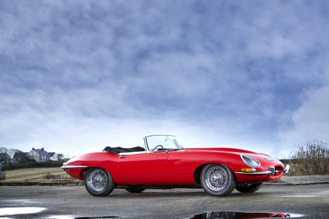 Jaguar E-Type Open Two Seater Series I 1961 cars convertible wallpaper
