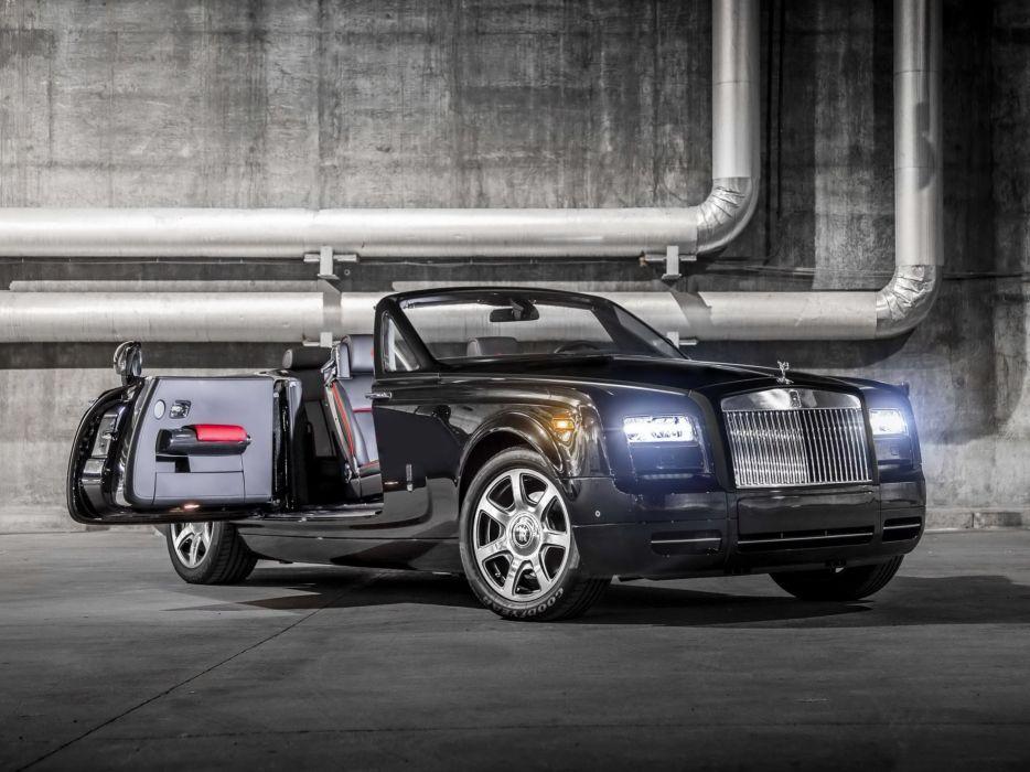 Rolls Royce Phantom Drophead Coupe Nighthawk 2015 cars convertible wallpaper