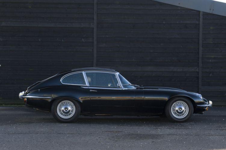 Jaguar E-Type V12 Fixed Head Coupe Series III cars classic wallpaper
