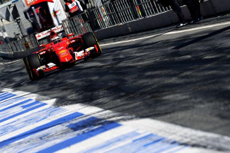 2015 Ferrari Formula one scuderia SF15-T wallpaper