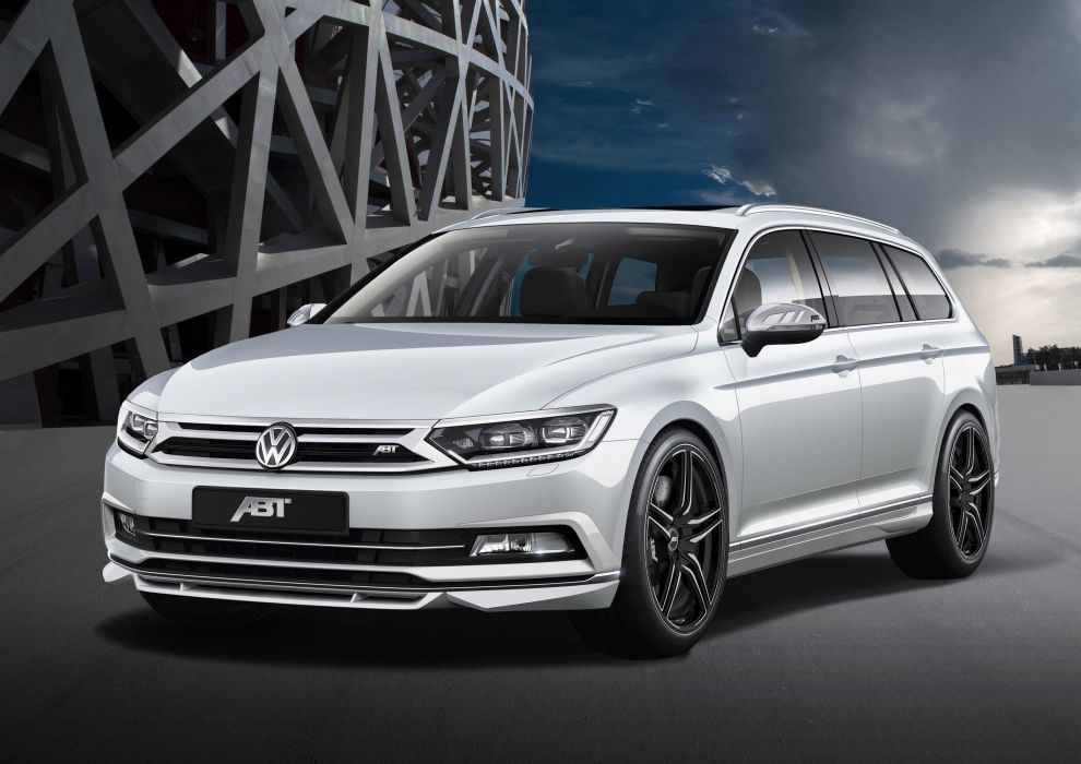 2015 ABT Volkswagen Passat B8 wagon cars tuning wallpaper ...