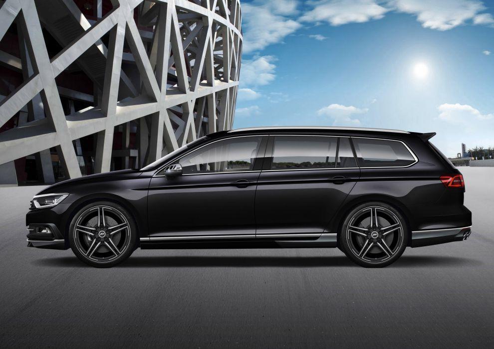 2015 ABT Volkswagen Passat B8 wagon cars tuning wallpaper ...