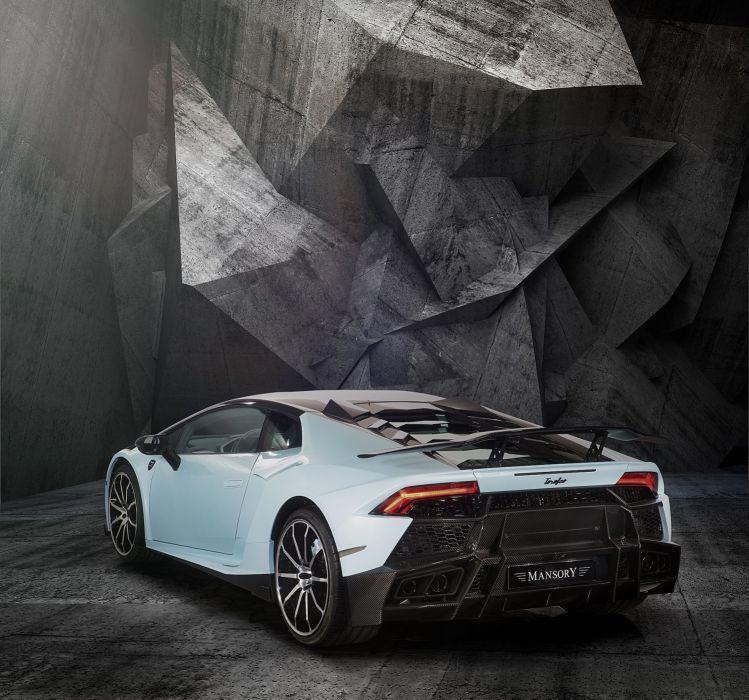 Mansory Lamborghini Huracan 2015 cars supercars tuning wallpaper