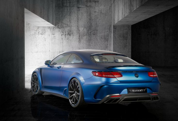Mansory Mercedes Benz S 63 AMG Coupe Diamond Edition 2015 tuning cars wallpaper