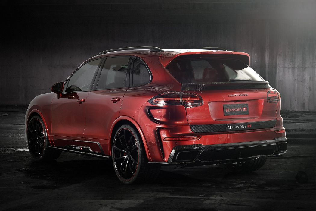 Mansory Porsche Cayenne Turbo 2015 tuning cars suv wallpaper