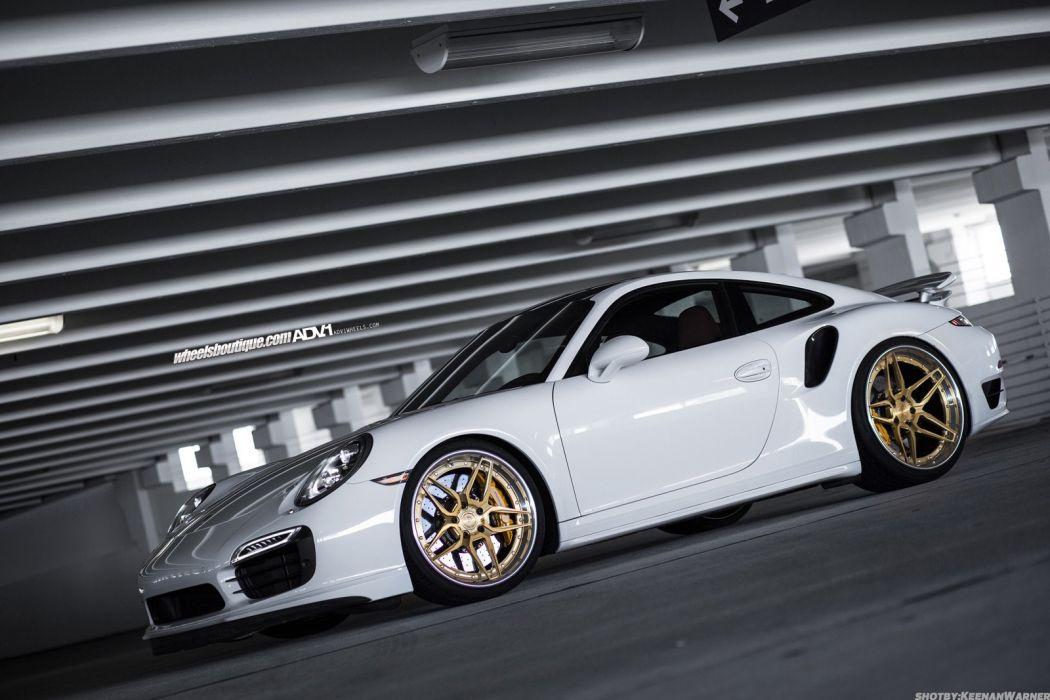 2015 ADV1 cars PORSCHE 991 TURBO S supercars wheels tuning wallpaper