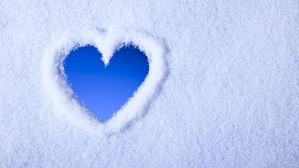 Blue White Wallpaper  X
