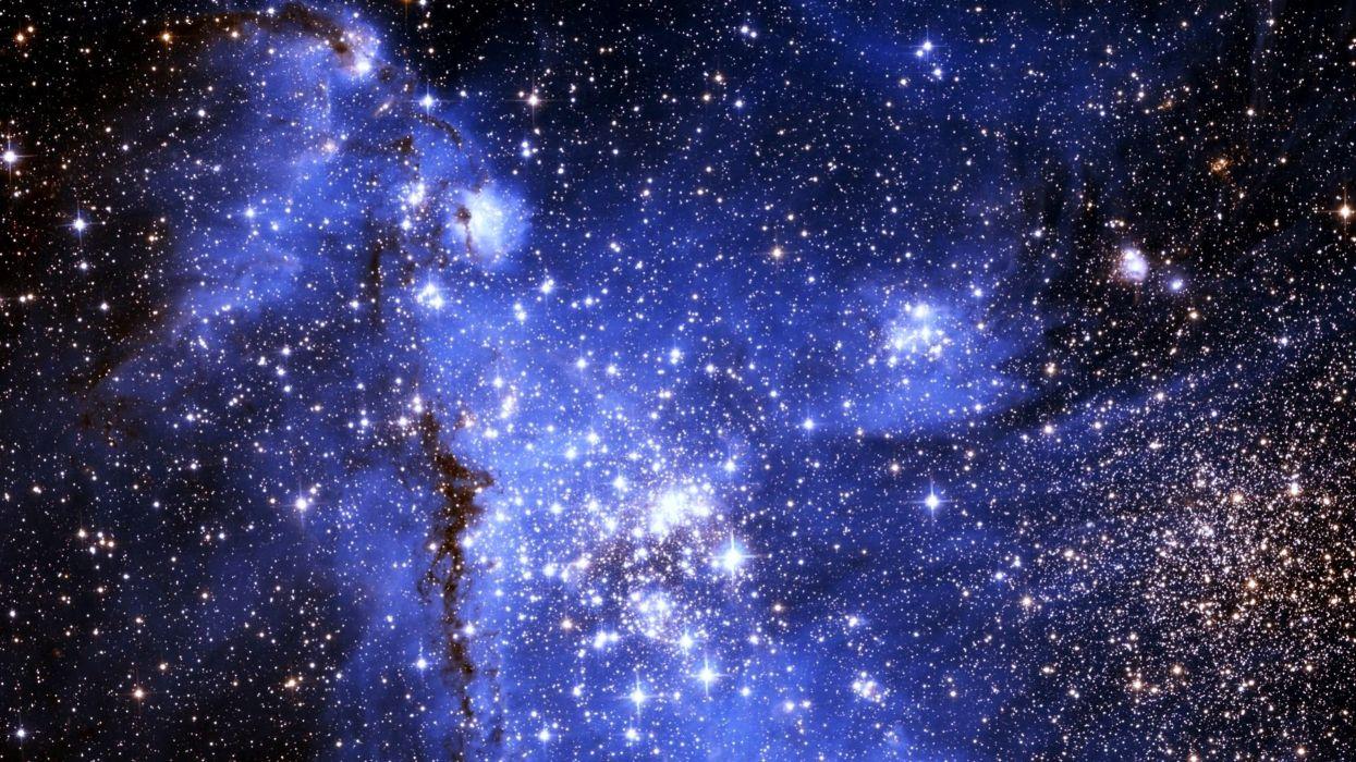 galaxy - Glow - nebula - sky - space - stars - ufo - universe wallpaper