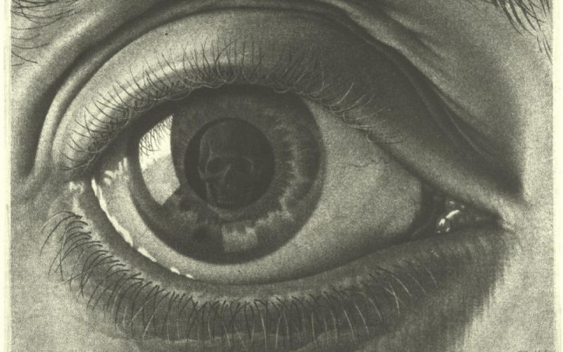 DONNIE DARKO drama mystery sci-fi crime supernatural dark 1darko horror apocalyptic eye skull wallpaper