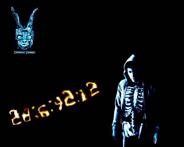DONNIE DARKO drama mystery sci-fi crime supernatural dark 1darko horror apocalyptic poster wallpaper