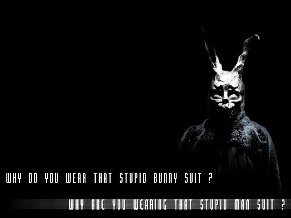 DONNIE DARKO drama mystery sci-fi crime supernatural dark 1darko horror apocalyptic poster wallpaper