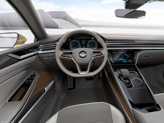 Volkswagen Sport Coupe GTE Concept cars 2015 wallpaper