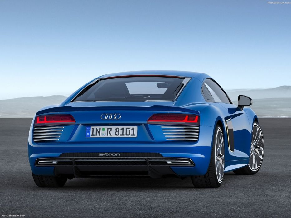 Audi R8 e-tron cars coupe 2016 wallpaper