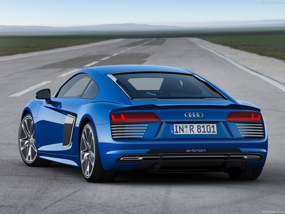 Audi R8 e-tron cars coupe 2016 wallpaper