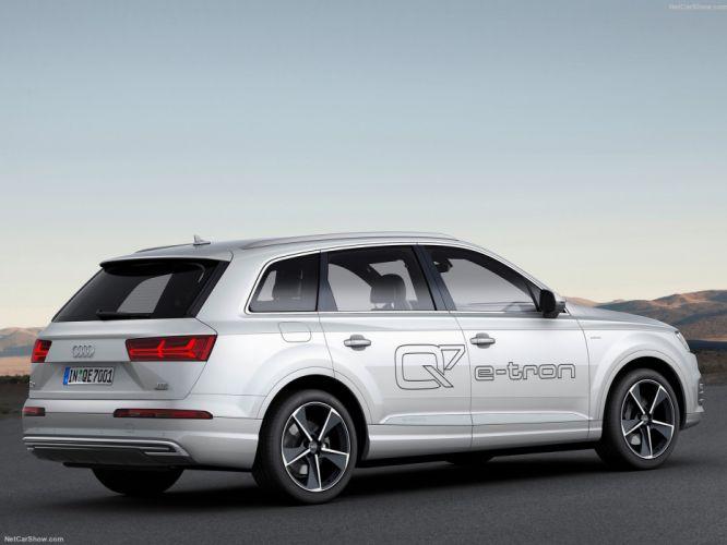Audi Q7 e-tron 3 0 TDI quattro wagon cars 2017 wallpaper