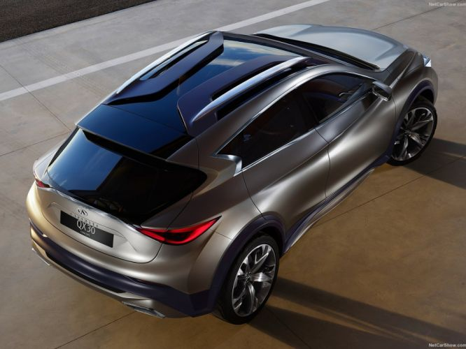 Infiniti QX30 Concept cars suv 2015 wallpaper