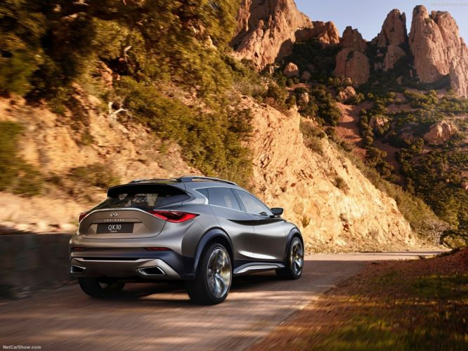 Infiniti QX30 Concept cars suv 2015 wallpaper