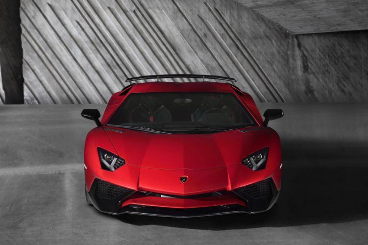 2016 Aventador cars Coupe Lamborghini LP750-4 supercars wallpaper