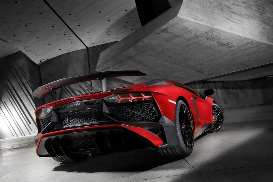 2016 Aventador cars Coupe Lamborghini LP750-4 supercars wallpaper