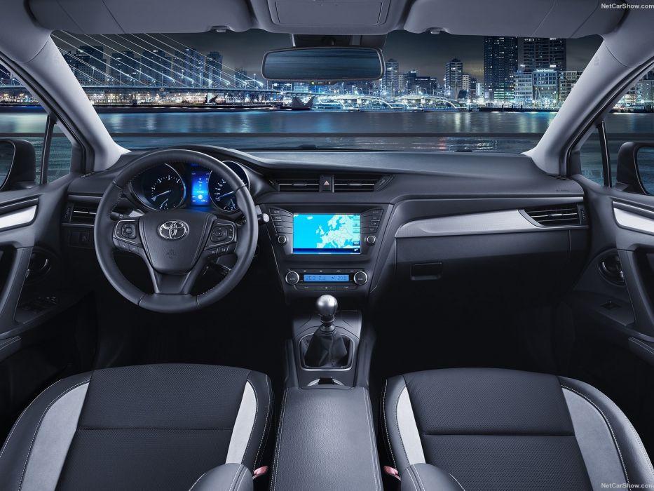 Toyota Avensis sedan 2016 cars interior wallpaper