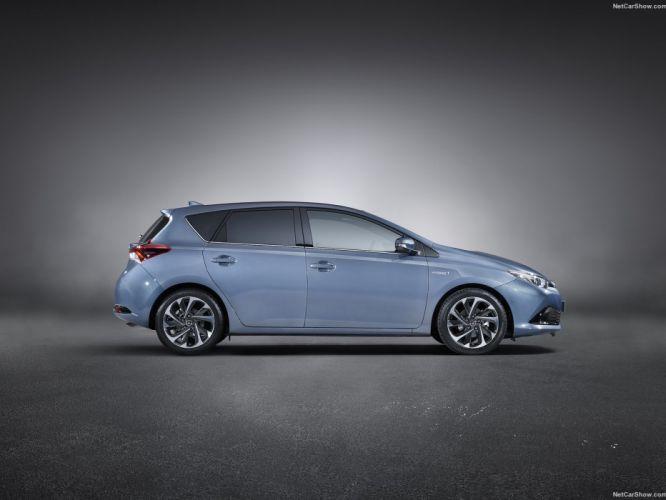 Toyota Auris 2016 cars wallpaper