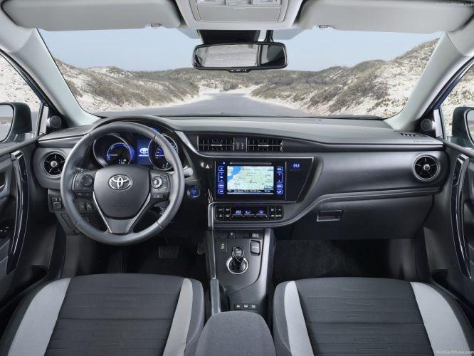 Toyota Auris 2016 cars interior wallpaper