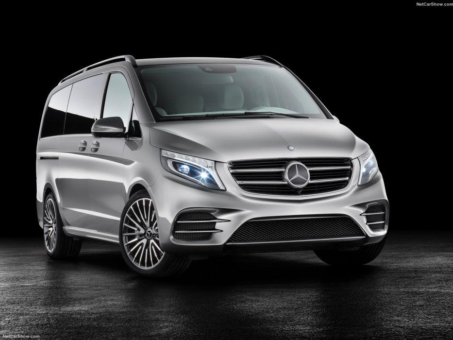 Mercedes Benz Vision e Concept cars van 2015 wallpaper