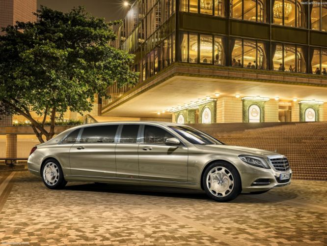 Mercedes Benz S600 Pullman Maybach limousine cars luxury 2016 wallpaper