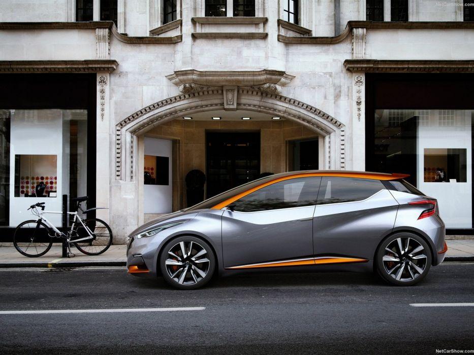 Nissan Sway Concept cars 2015 wallpaper