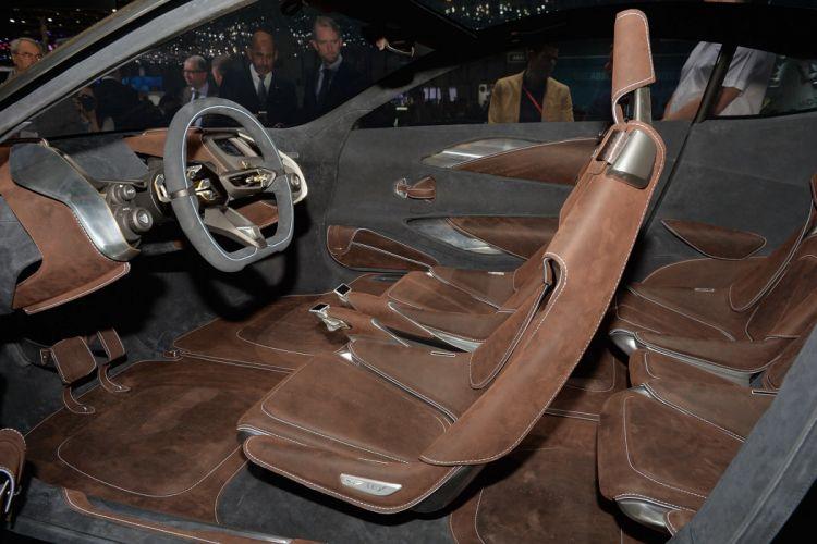 2015 Aston cars Concept DBX Martin wallpaper