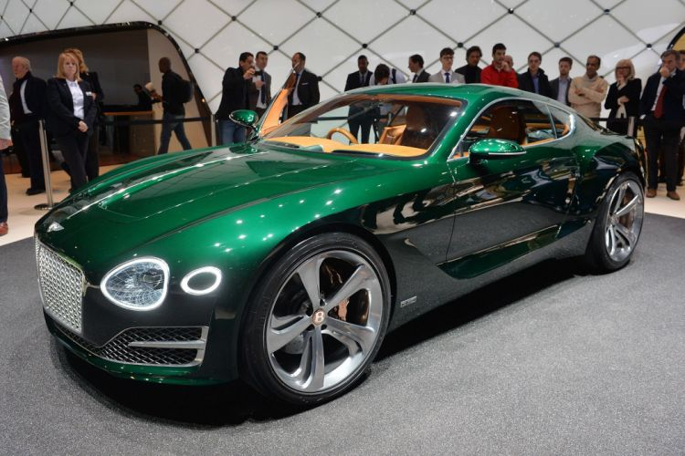 2015 Bentley cars Concept Coupe exp Speed wallpaper