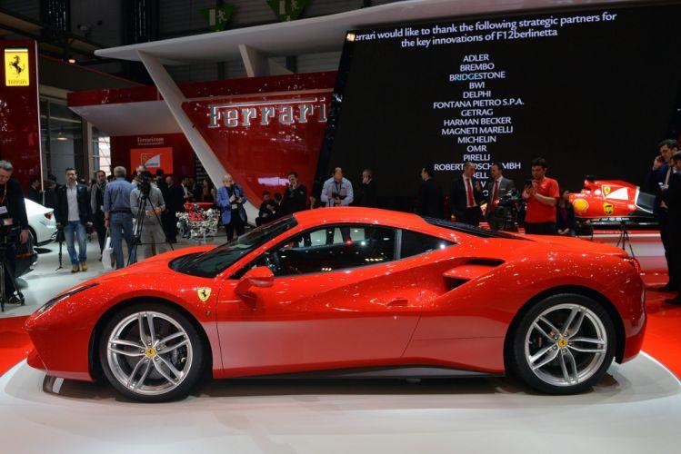 2015 cars Coupe Ferrari gtb supercars wallpaper