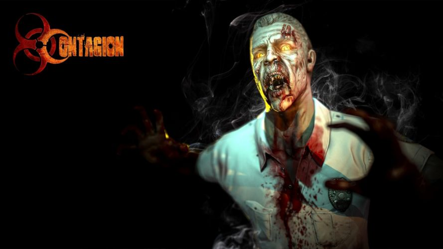 CONTAGION zombie survival horror fps shooter dark wallpaper