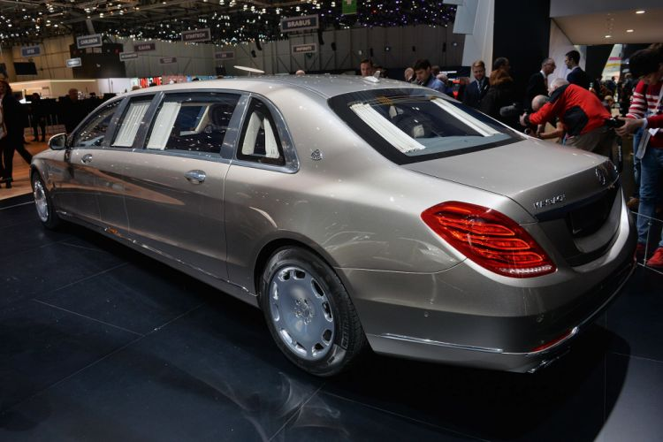 2016 benz cars limousine luxury maybach Mercedes pullman s600 wallpaper