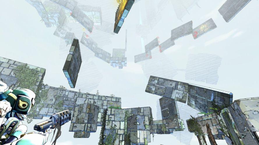 CLOUDBUILT action platform sci-fi fantasy strategy wallpaper