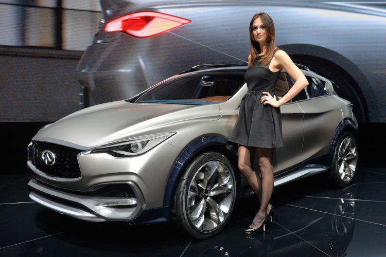 2015 cars Concept infiniti QX30 suv wallpaper