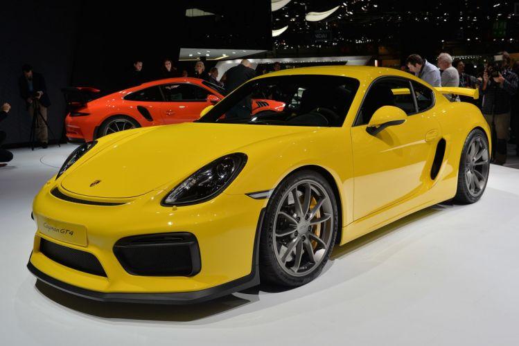 2016 cars cayman Coupe gt4 Porsche wallpaper