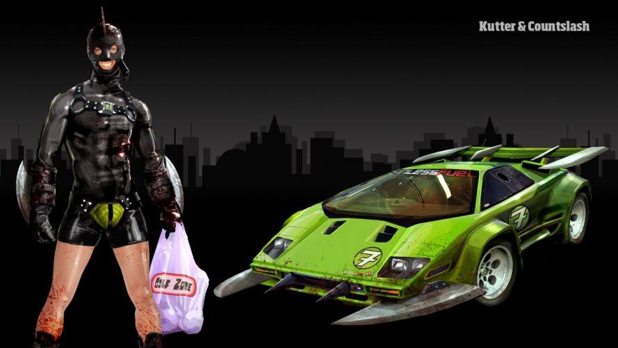 CARMAGEDDON violence combat fighting race racing battle cars wallpaper